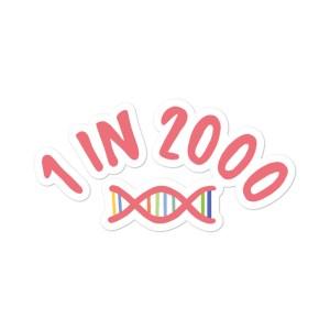 1 in 2,000