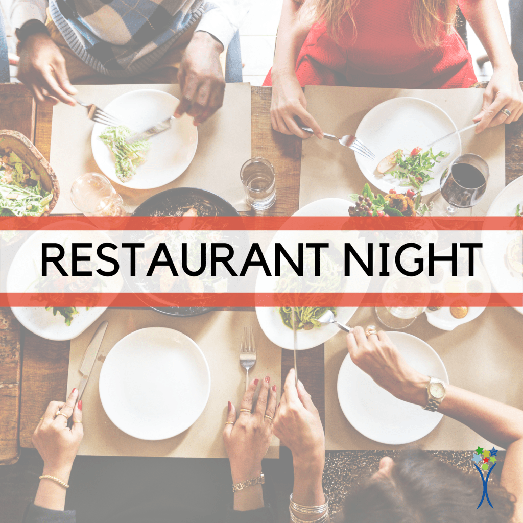 restaurant night