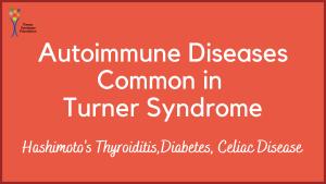 autoimmune diseases common in turner syndrome