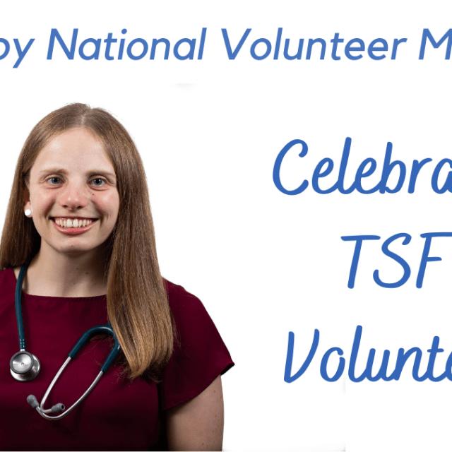 celebrating TSF's volunteers