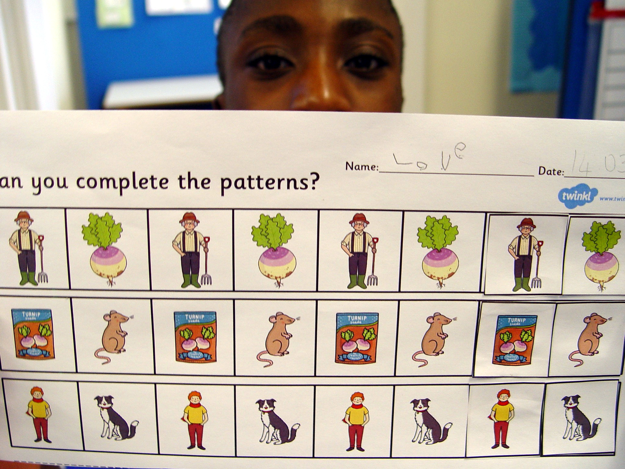 Class 10ma Maths Symmetry And Patterns Learning Turney