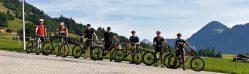 TG Mountainbiking auf der Transalp 2019