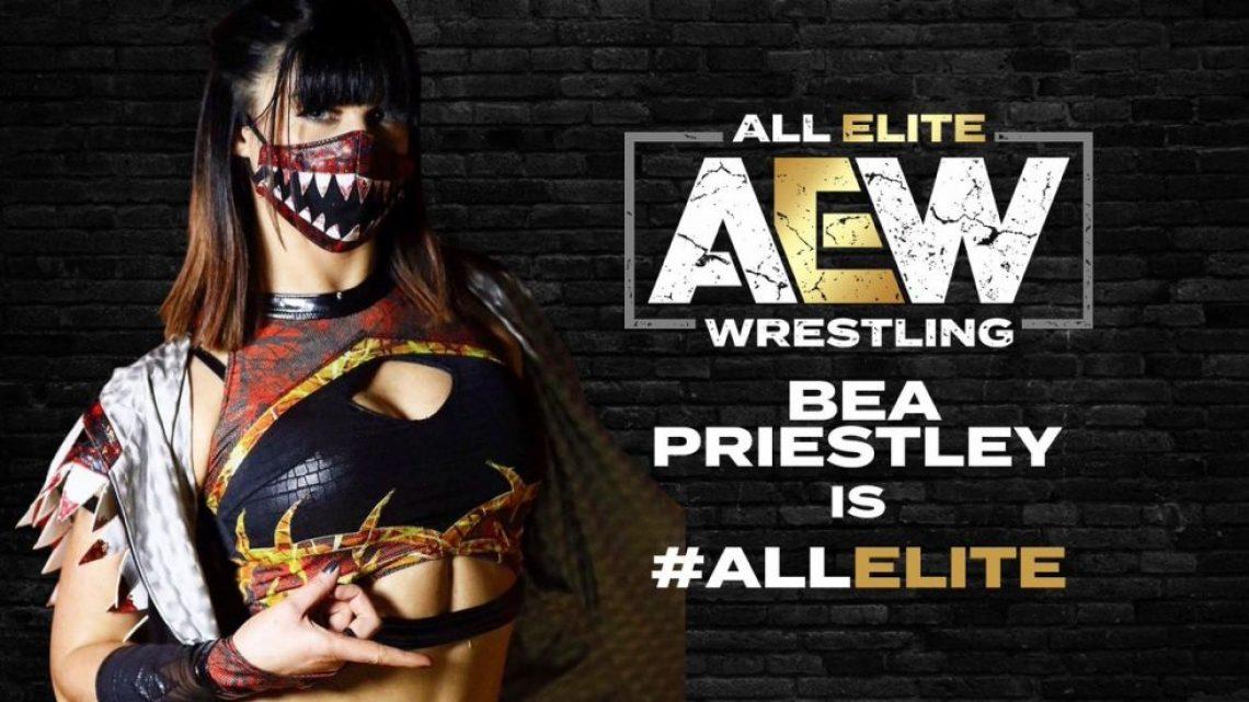 AEW anuncia la contratación de Bea Priestley