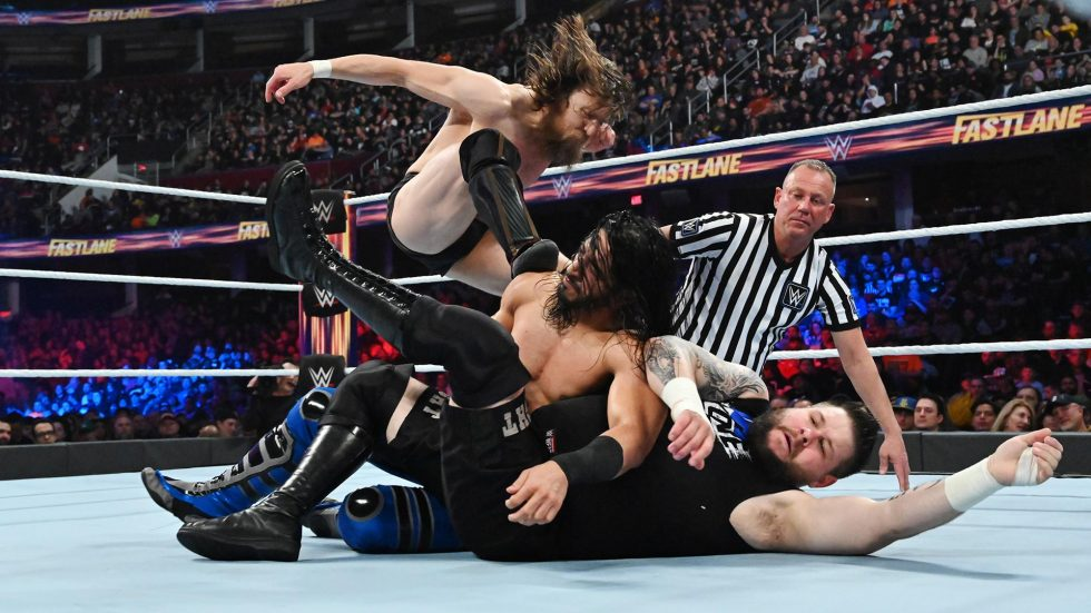 Daniel Bryan defiende con éxito en WWE Fastlane 2019
