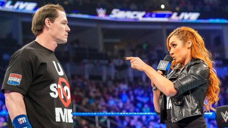 John Cena habla sobre el ascenso de Becky Lynch