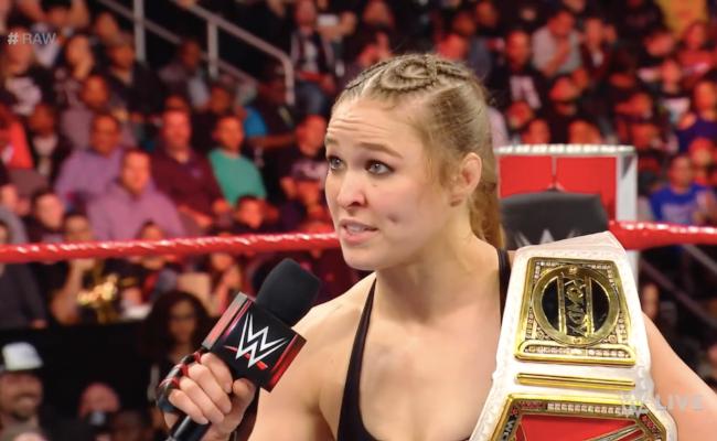Ronda Rousey seguirá en WWE mientras siga siendo feliz