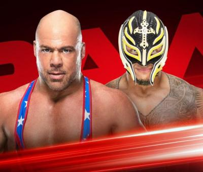 WWE cancela el Rey Mysterio vs Kurt Angle de esta noche en WWE RAW