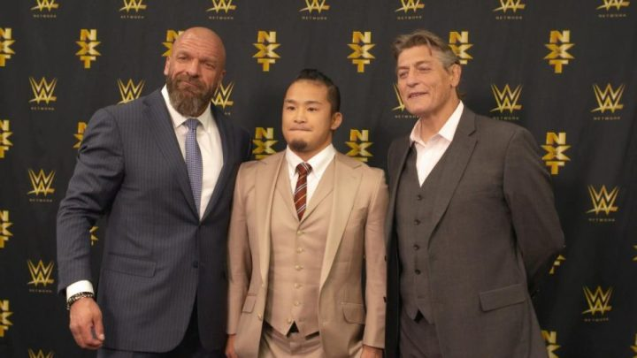 KUSHIDA firma oficialmente con WWE