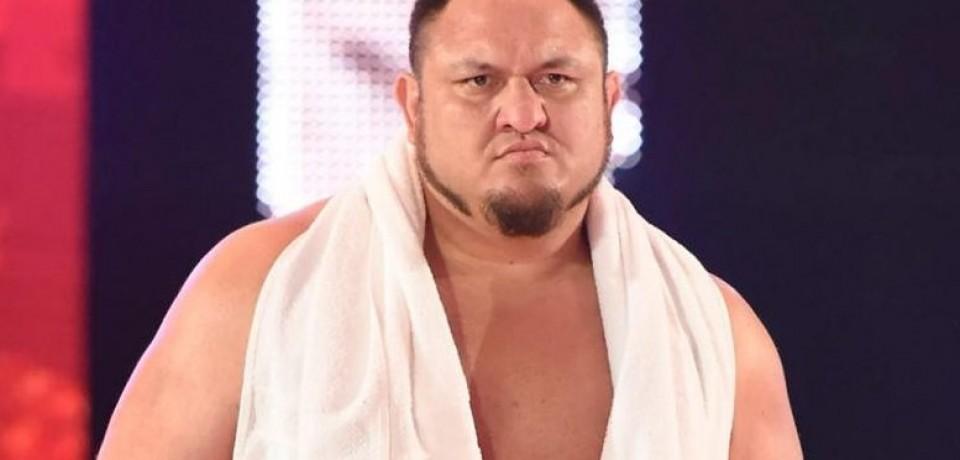 Últimos detalles sobre Samoa Joe en WWE RAW