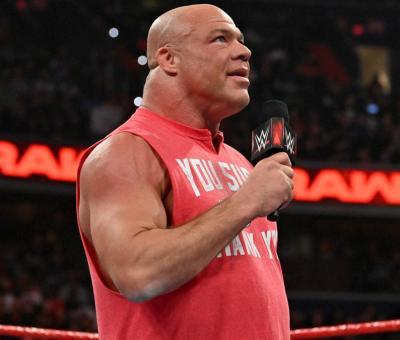 Kurt Angle productor WWE