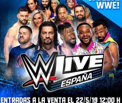 22 de mayo fecha de salida de entras para WWE España