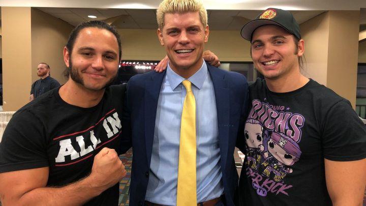 Cody Rhodes y The Young Bucks hablan sobre el título 24/7 de WWE