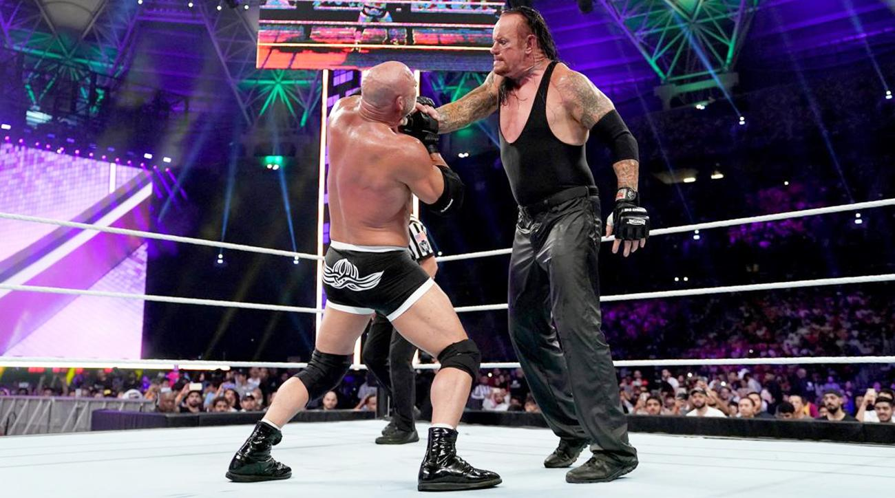 Goldberg Undertaker Super Show-Down