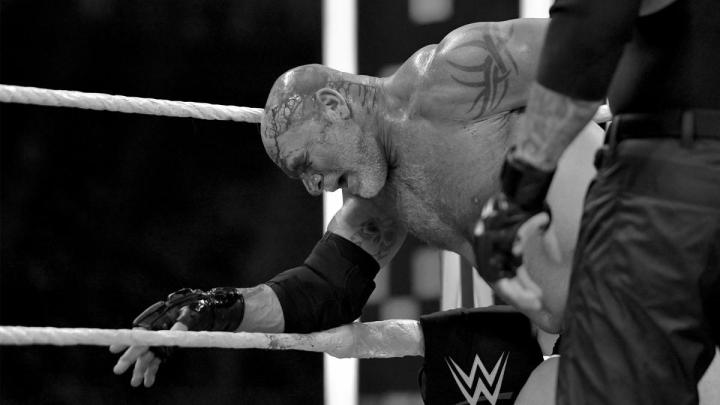 Goldberg sufrió una conmoción cerebral durante Super ShowDown