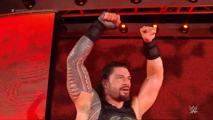Roman Reigns vence a Drew McIntyre en Stomping Grounds