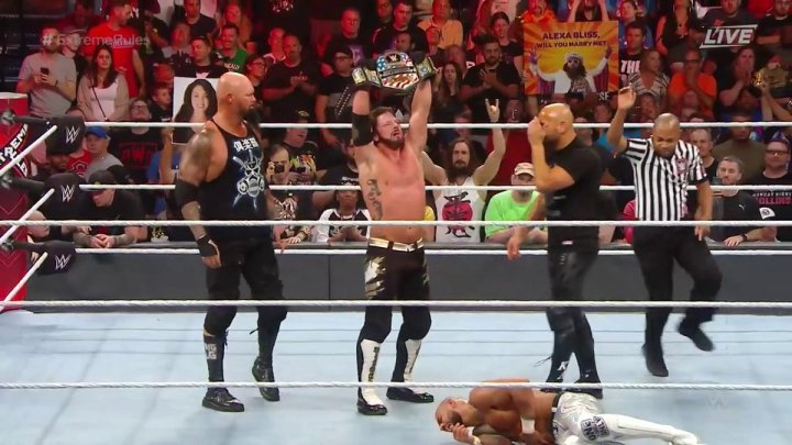 AJ Styles nuevo campeón de Estados Unidos en WWE Extreme Rules