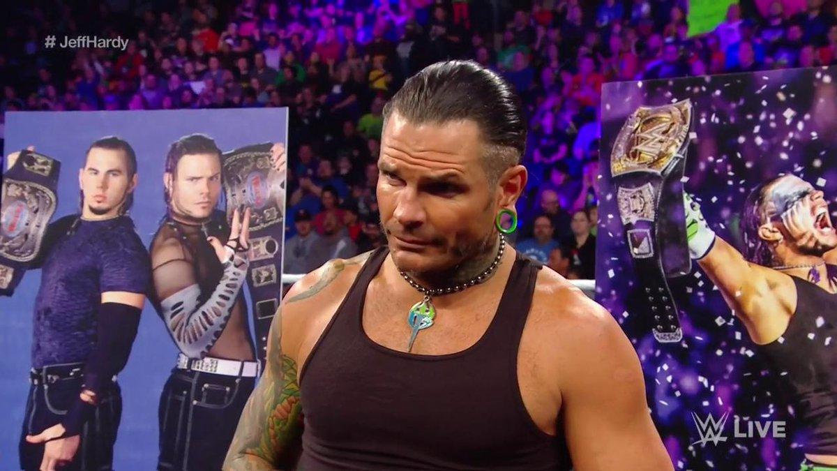 Novedades acerca de la lesión de Jeff Hardy