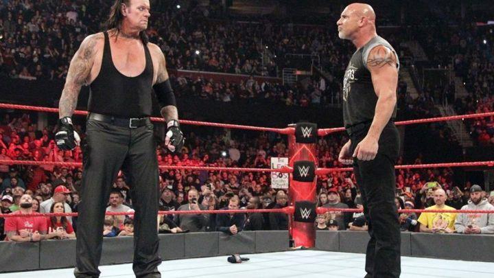Batista intento convencer a The Undertaker de que no luche con Goldberg
