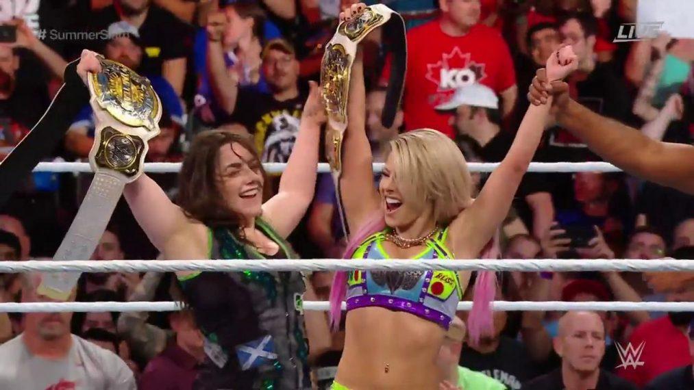 Alexa Bliss Nikki Cross SummerSlam