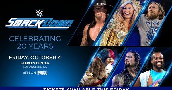 WWE FOX SmackDown