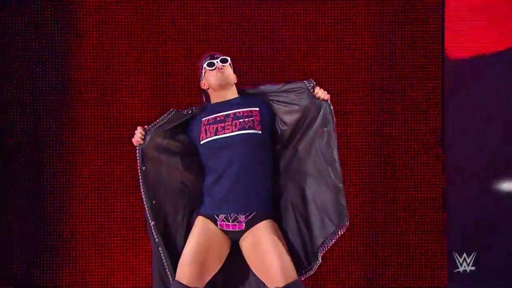 The Miz vence a Andrade en SmackDown Live