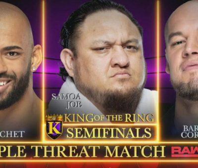 Ricochet Samoa Joe RAW