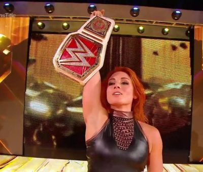 Becky Lynch Clash of Champions