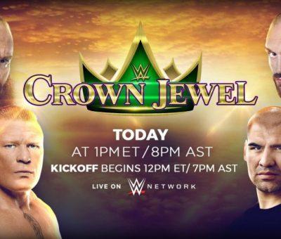 WWE Crown Jewel Resultados