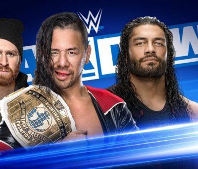 Shinsuke Nakamura Roman Reigns