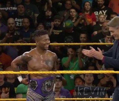 Lio Rush Campeonato Peso Crucero NXT