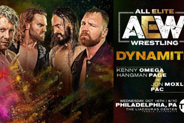 AEW Dynamite Resultados 16 de octubre
