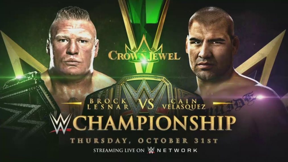 Apuestas Crown Jewel: Caín Velasquez vs Brock Lesnar