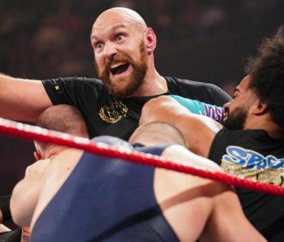Tyson Fury WWE
