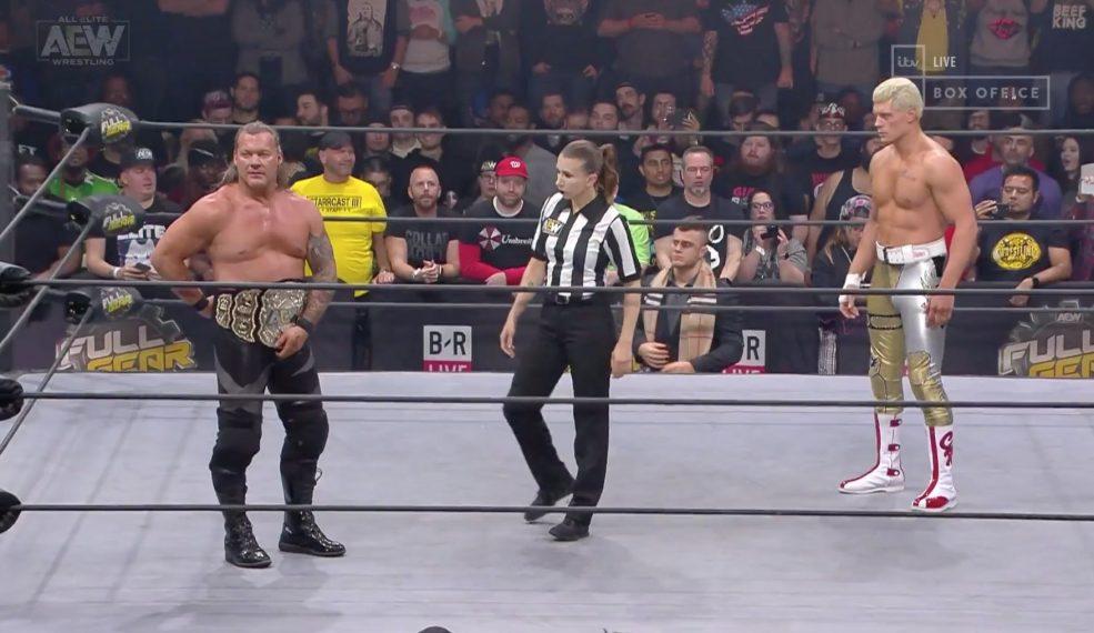 Chris Jericho Cody Full Gear
