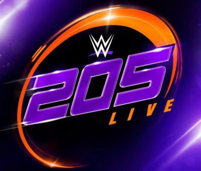 WWE 205 Live Resultados 8 de noviembre