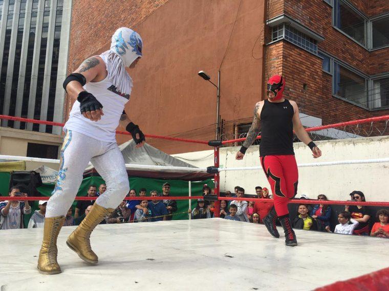 ELL – Equipos de Lucha Libre se toma el mercado de San Alejo - TurnHeelWrestling