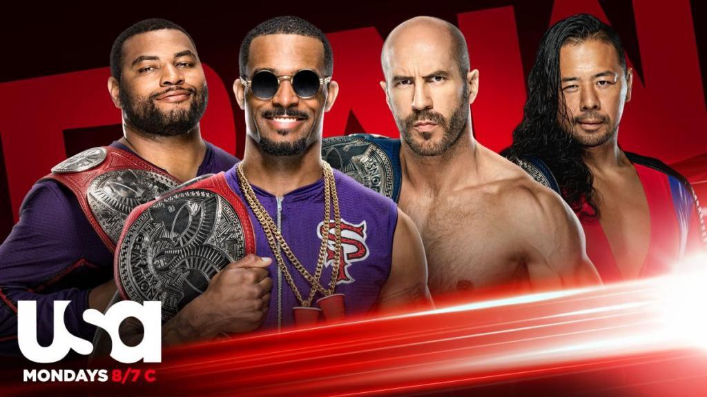 Previa WWE RAW In Your Face 14 de septiembre de 2020