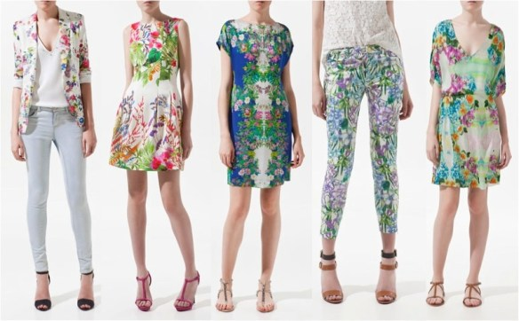 Floral fashion trending for spring 2013