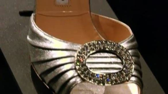 Manolo Blahnik's shoe that Carrie Bradshaw wore on Sex and the City