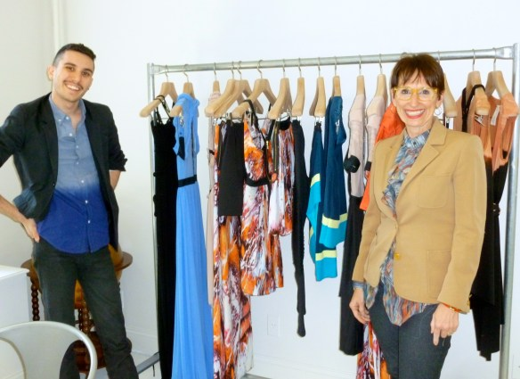 Daniel and Chris with 100%NY Spring 2013 Collection