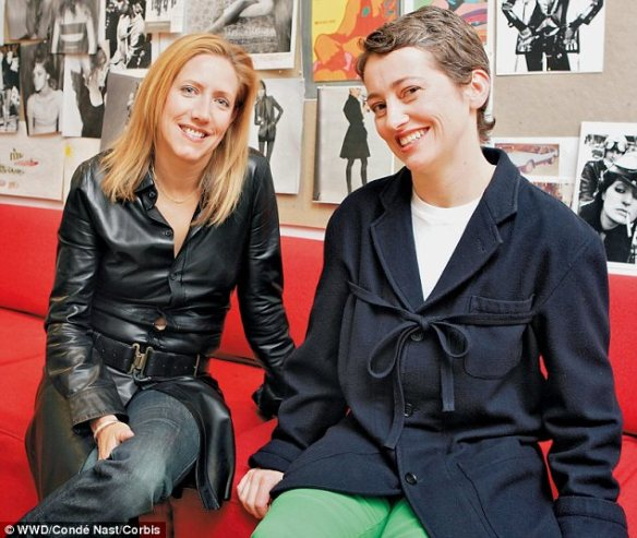 Kari Sigerson and Miranda Morrison, namesakes of Designer Shoes, Sigerson Morrison Photo Credit: