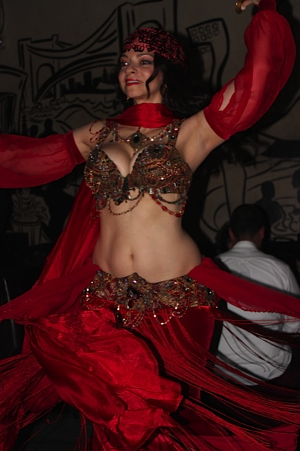 The wonderful Belly Dancing at Le Souk Restaurant, NYC