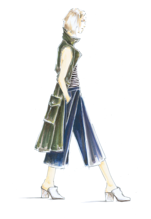 A sketch of Who What Wear's Target collection   Source: Courtesy