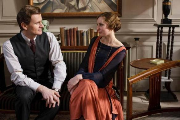 Lady Edith with her new (married) suitor, Season Four