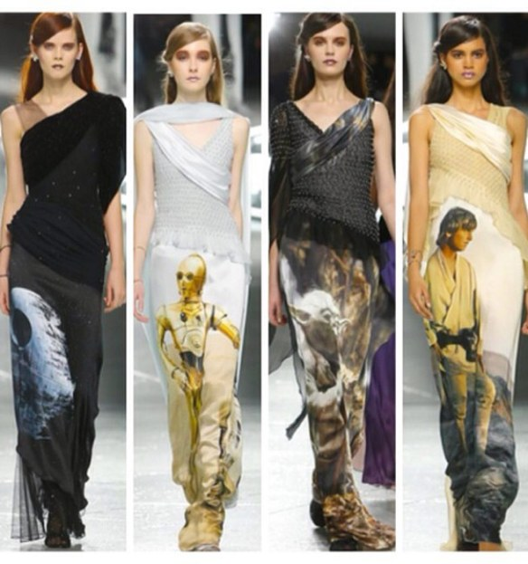 Rodarte Fall 2014 Star Wars Collection: Courtesy of Elle