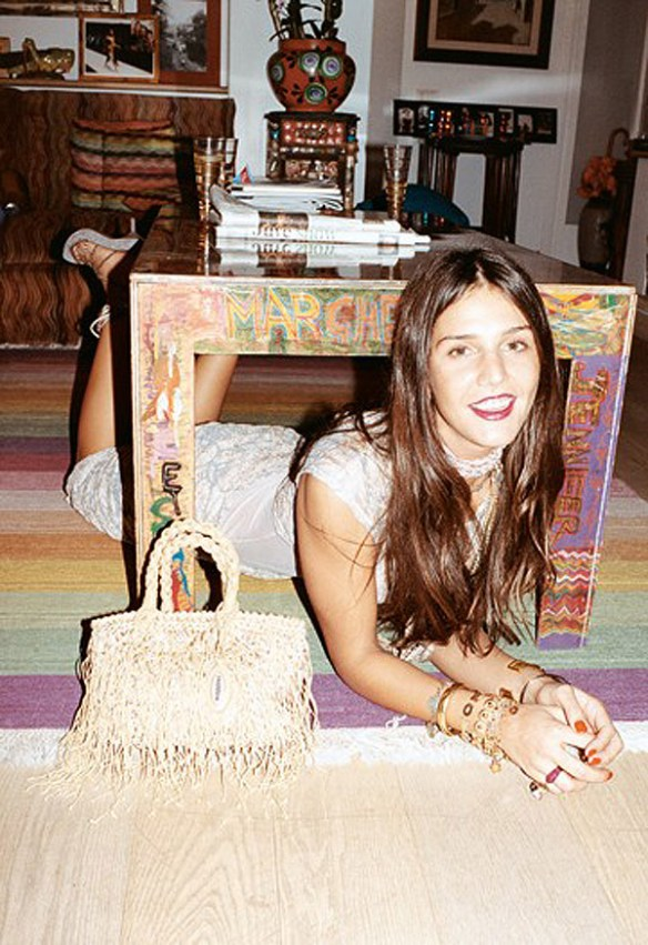 Margherita Maccapani Missoni for 2010 Spring ad campaign - Photo by Juergen Teller