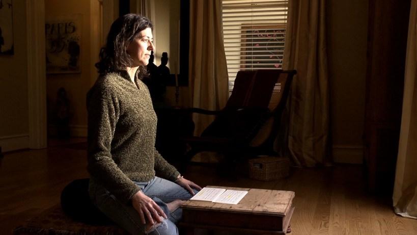 Kelly inside meditation