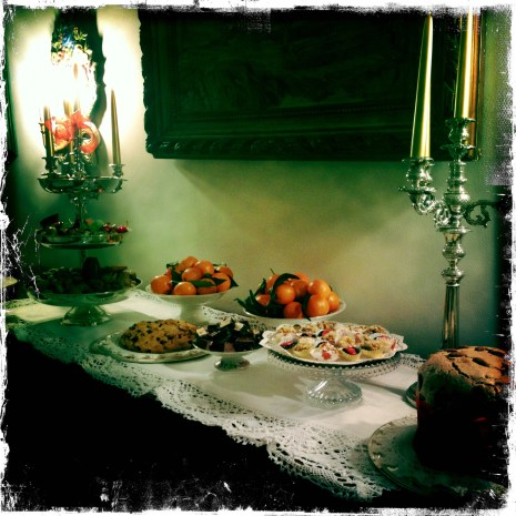 My Mum Italian Xmas dinner