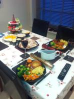 Mark - English Xmas dinner for two!