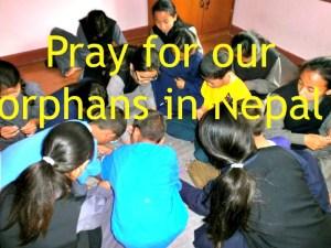 Please be in prayer